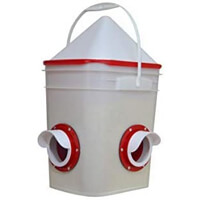 RentACoop's Grain in Bucket
