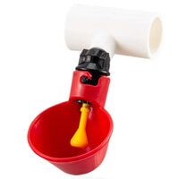 Mewtogo Automatic Poultry Drinking Cup