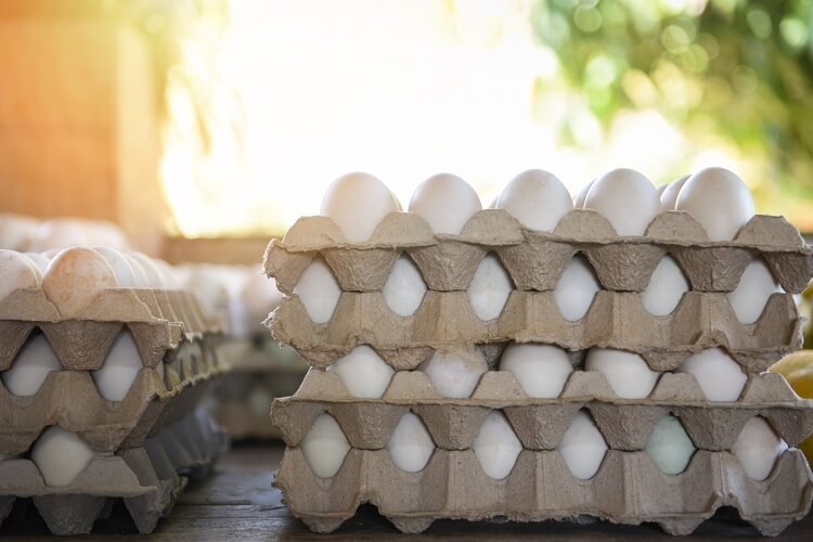 Stacked Eggs